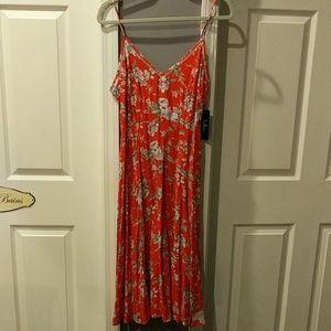 NWT Lulu's Esperanza Midi Dress